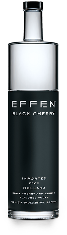 EFFEN Black Cherry Vodka bottle shot