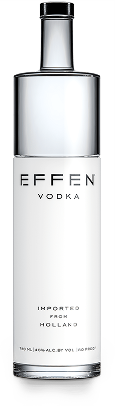 EFFEN Premium Vodka bottle shot