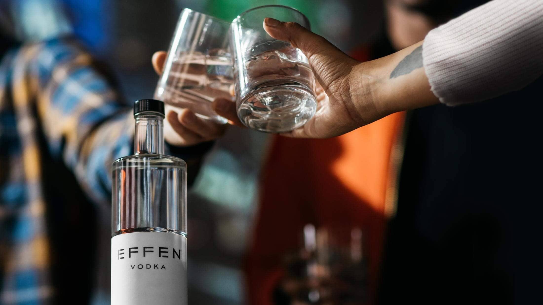 EFFEN is premium dutch vodka and unique premium design - just as unique as you.