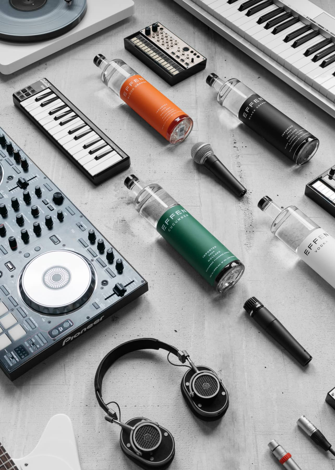 Music and vodka deeply belong to each other and are creating great mood on every party