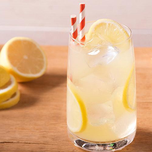 Black Cherry Lemonade with EFFEN Cucumber Vodka. Sweet, with a splash of lemon lime soda.