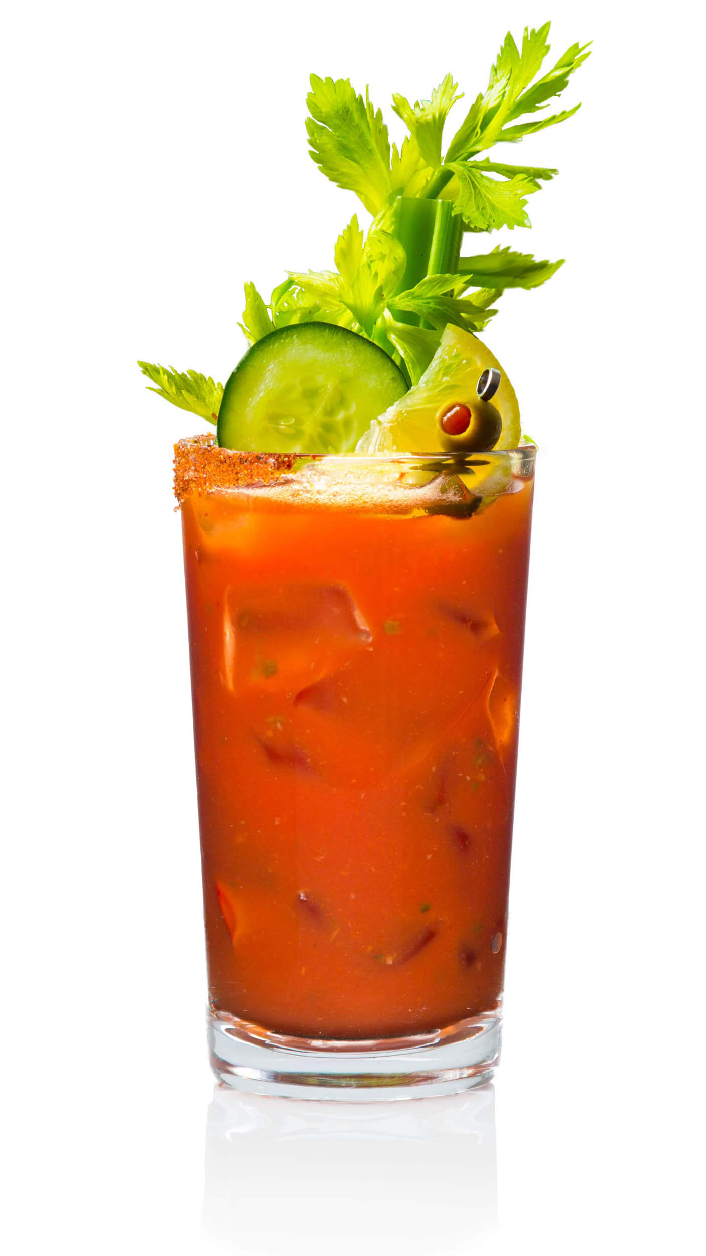 Bloody mary beer with EFFEN Cucumber Vodka, tomatoes, celery, pepper, Tabasco, lime and beer.