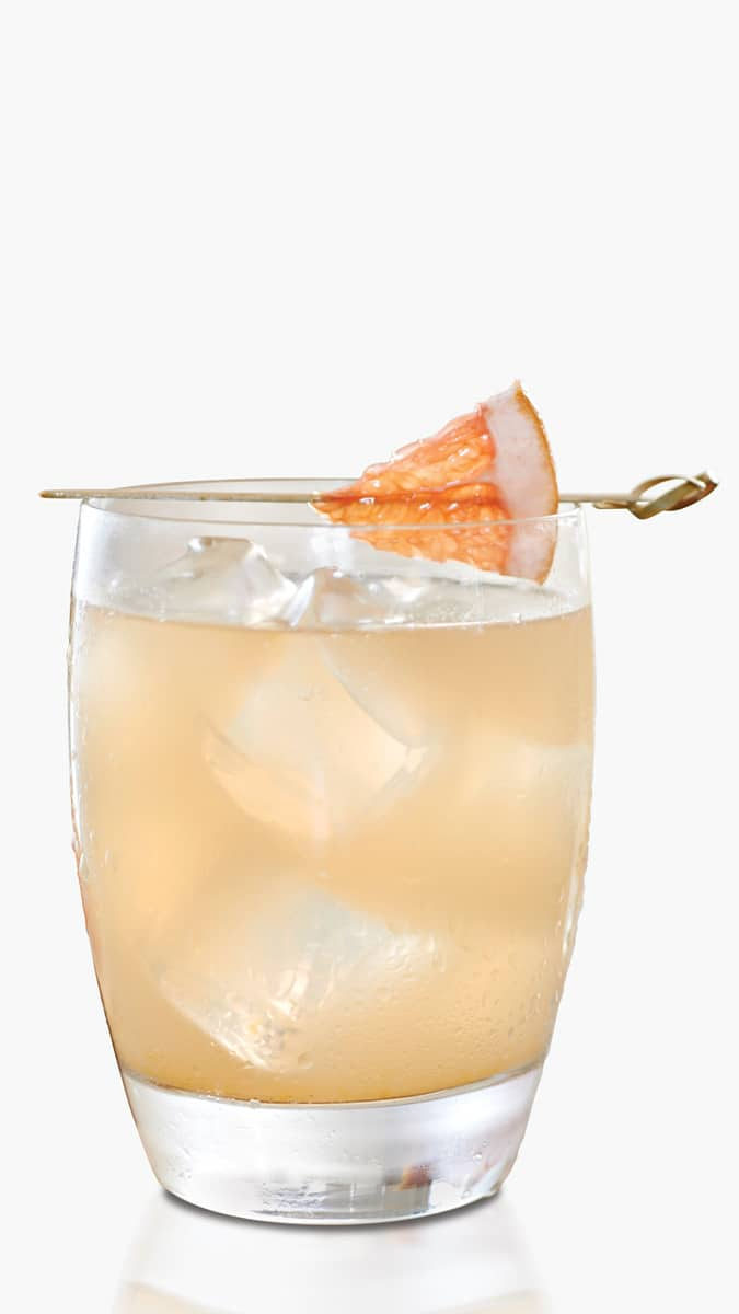 Grapefruit vodka Soda with EFFEN Yuzu Citrus Vodka: herbal but fruity.
