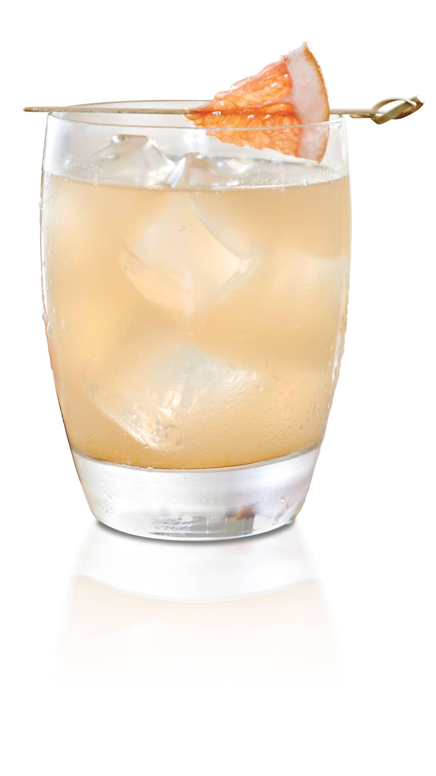 Grapefruit vodka Soda with EFFEN Yuzu Citrus Vodka: herbal but fruity.