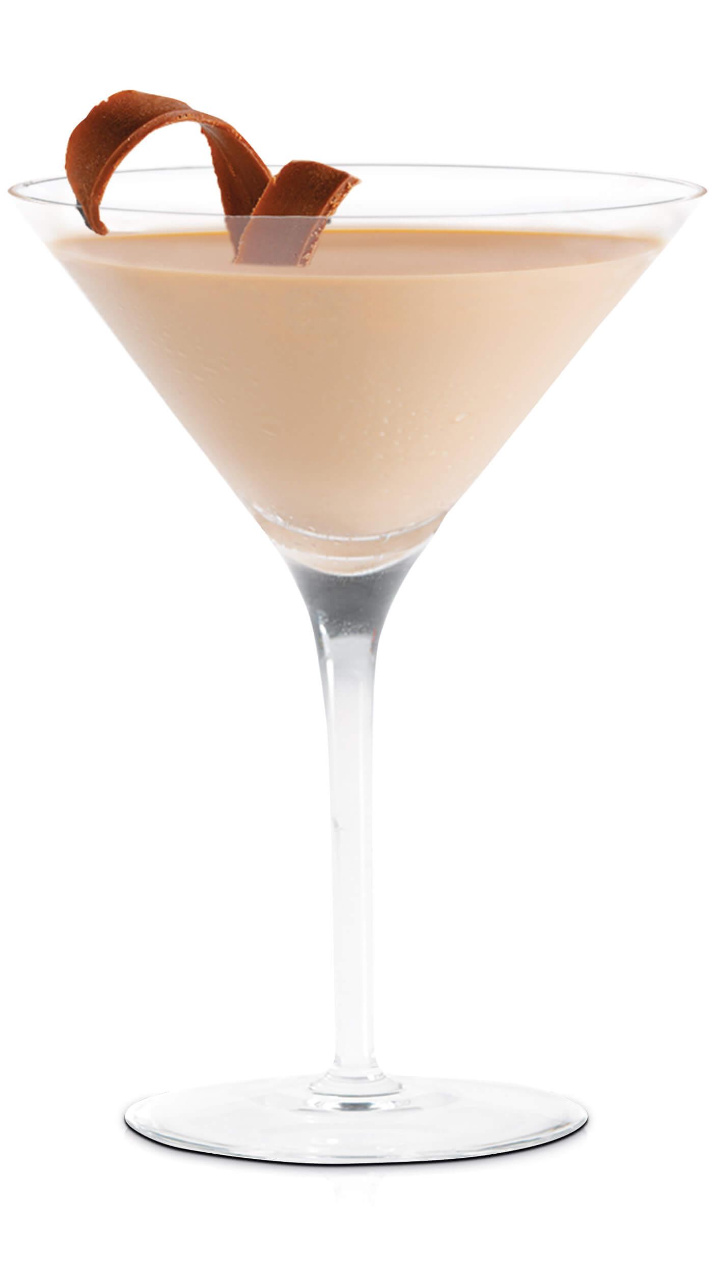 Chocolate cherry martini with EFFEN Black Cherry Vodka: Creme de Cacao and Maraschino cherries.
