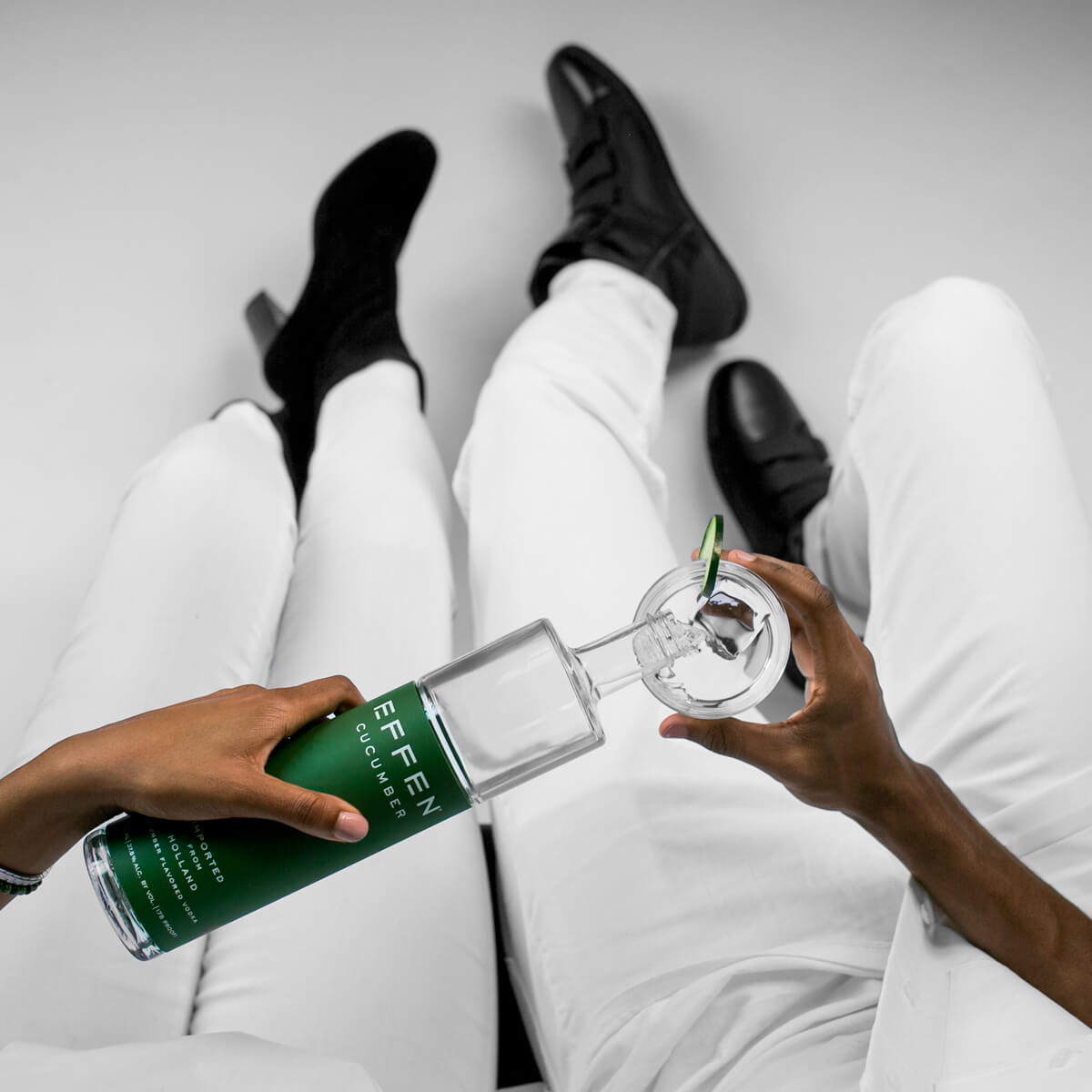 Cool as cucumber with EFFEN Cucumber Vodka. Be yourself!