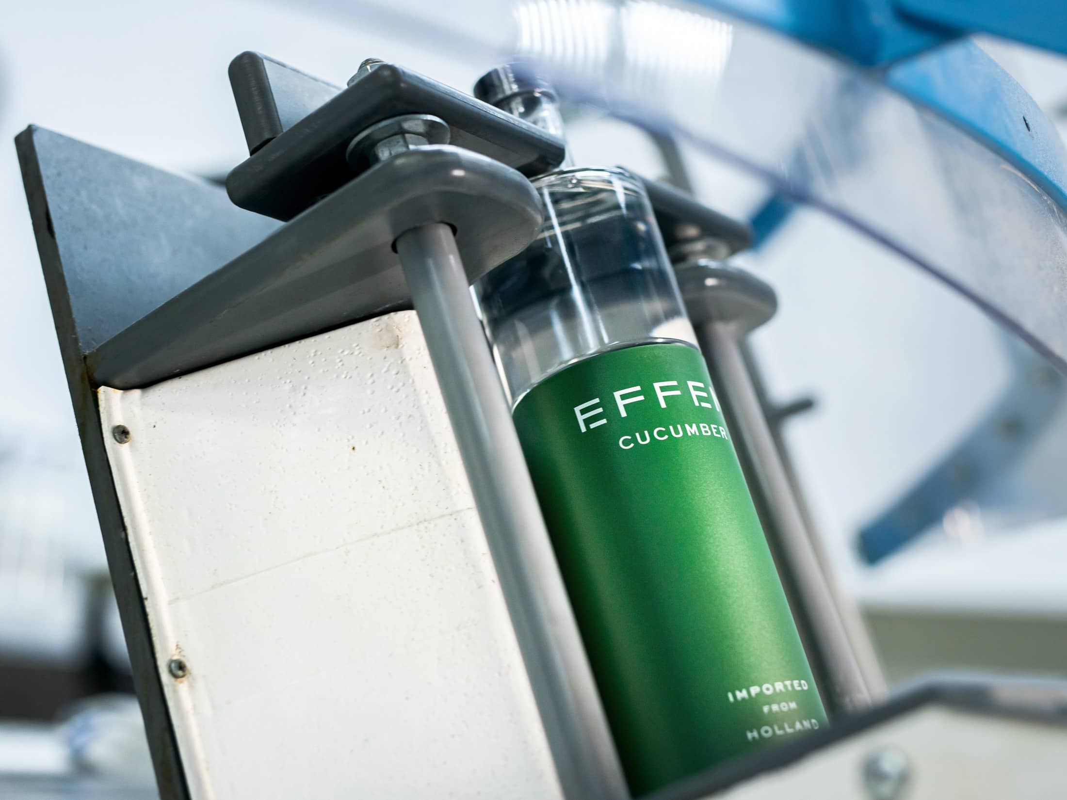 EFFEN Cucumber Vodka: a perfectly distilled vodka from the Netherlands.