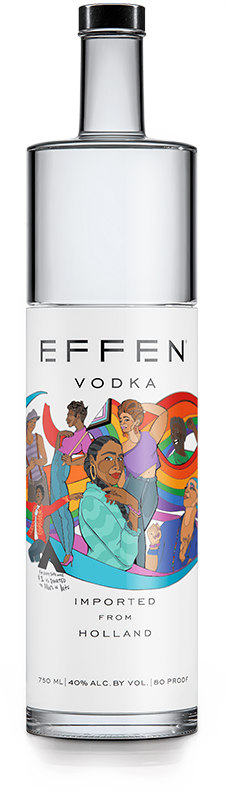 Effen alliesInArt vodka