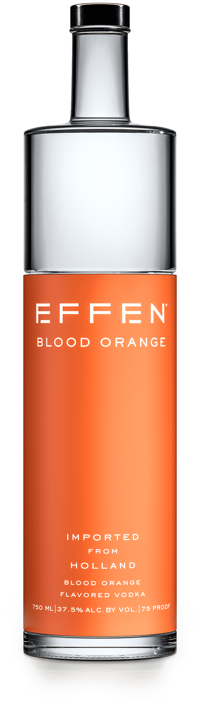 EFFEN Blood Orange Vodka bottle shot