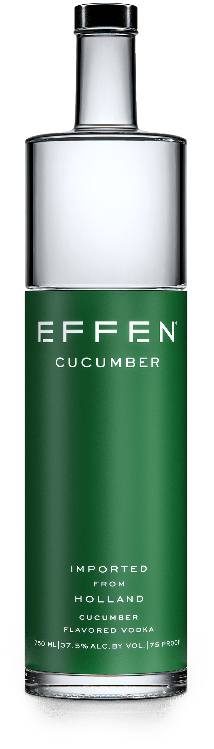 EFFEN Cucumber Vodka bottle shot