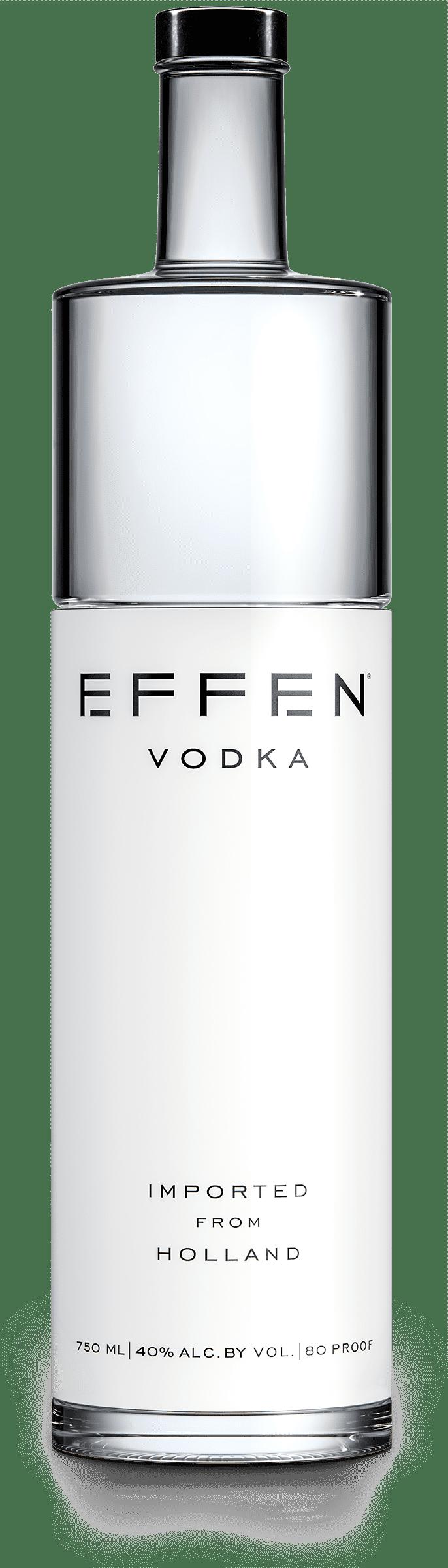 EFFEN Premium Vodka bottle shot