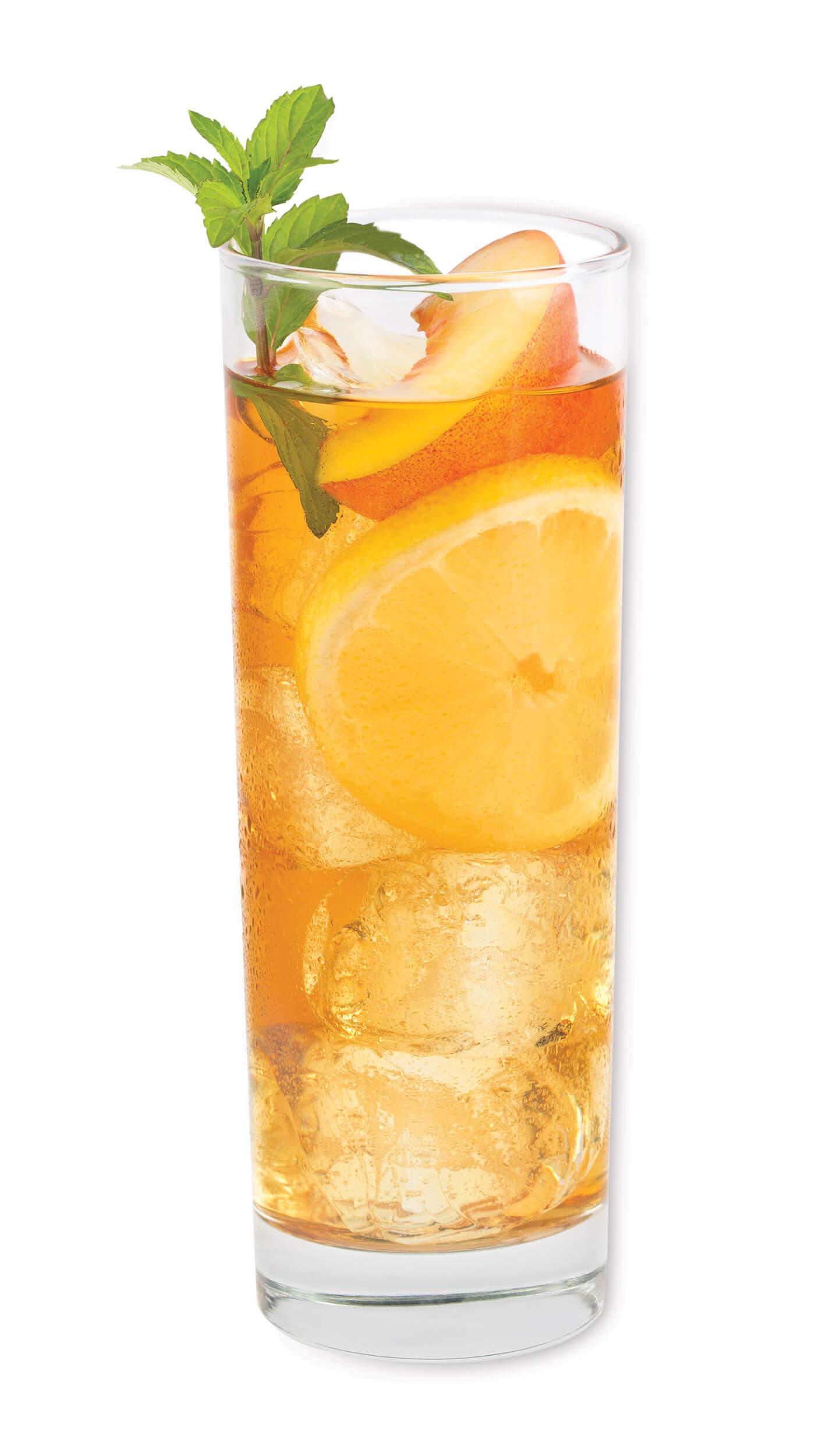 Ice tea vodka with EFFEN Black Cherry Vodka: icead tea & Crystal Light Lemonade. Skinny Cocktail!