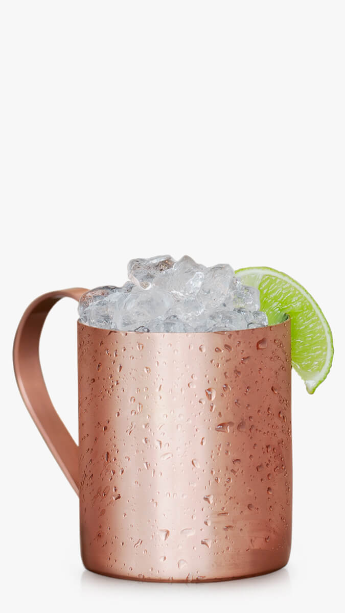 Vodka mule with EFFEN Original: aromatic and herbal with ginger beer and lime.