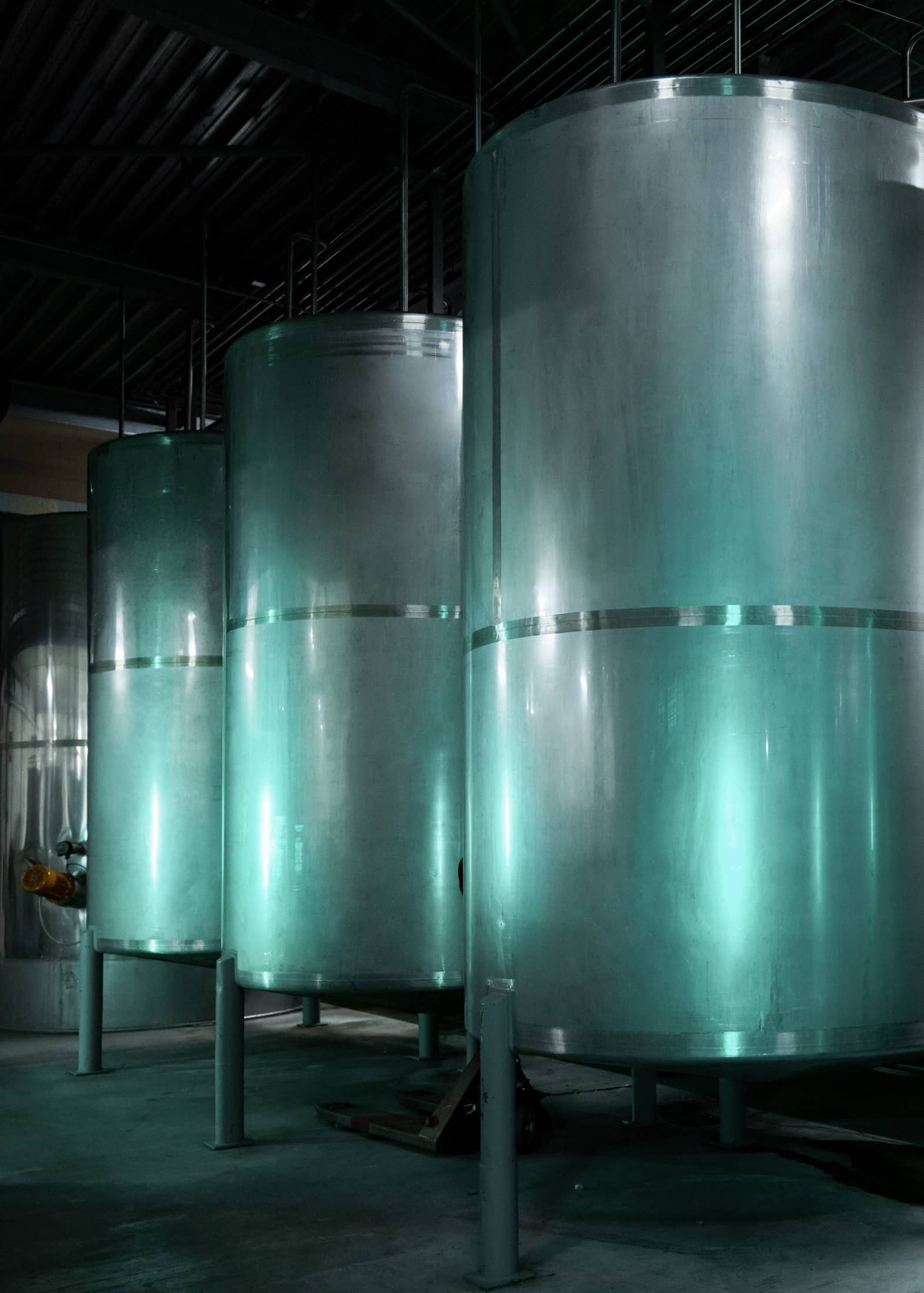 Storing the vodka in silos is a important step to purify vodka.