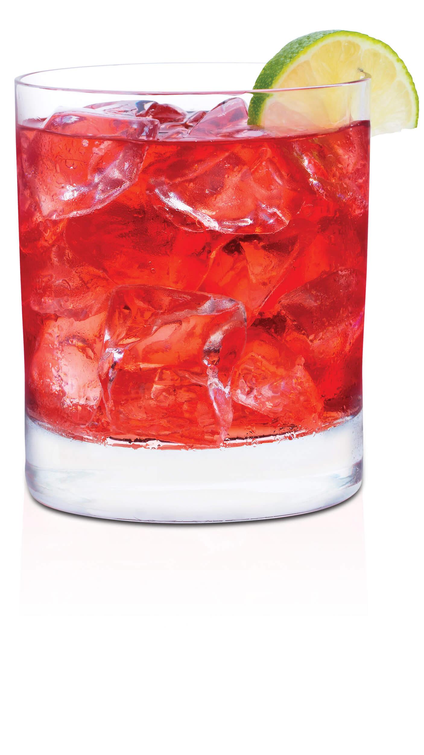 Vodka cranberry lemonade: EFFEN Black Cherry Vodka, light lemonade & Ocean Spray Light Cranberry.