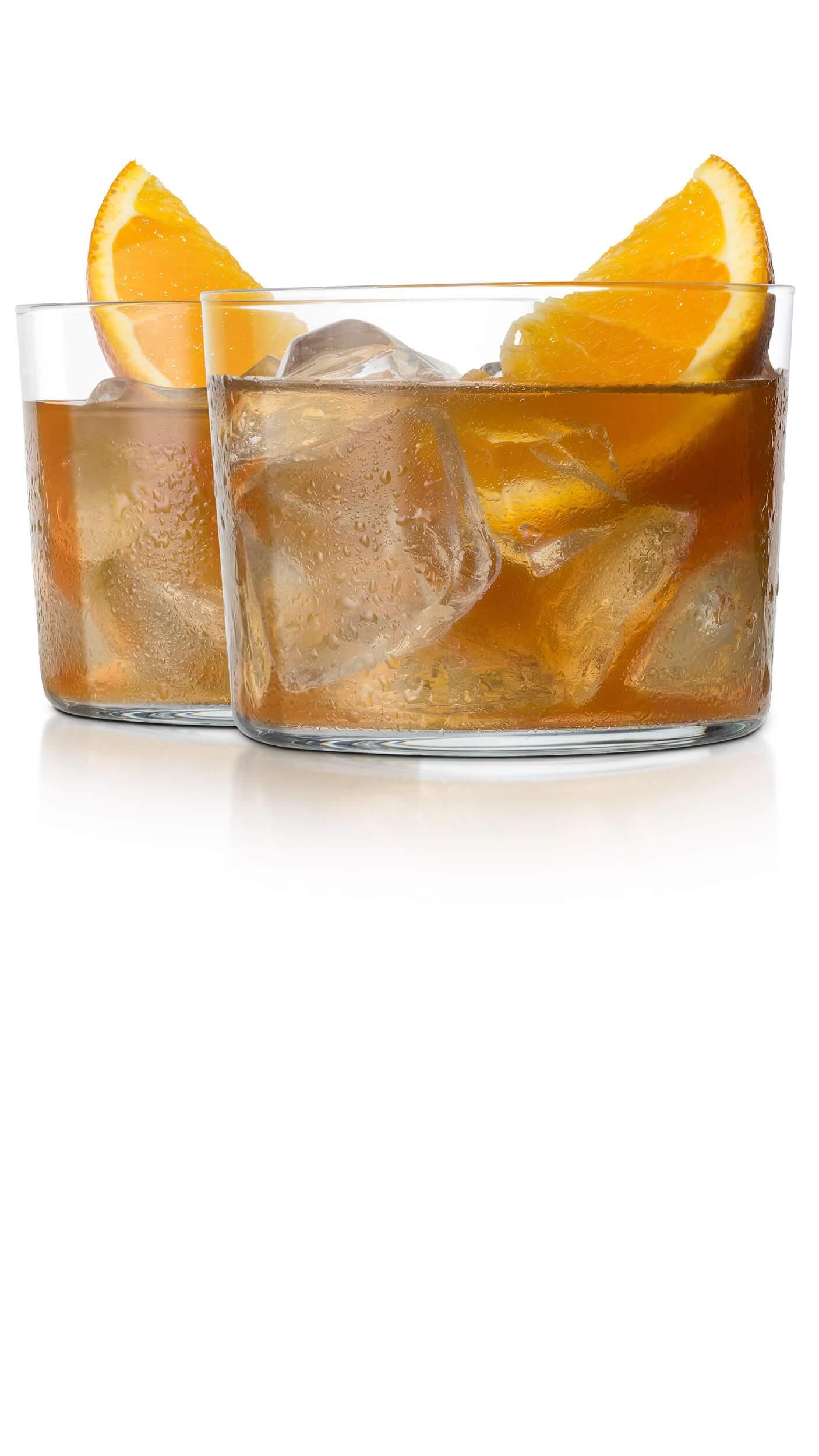 Vodka sweet tea with EFFEN Original: earthy, with DeKuyper Triple Sec Liqueur and orange marmelade.